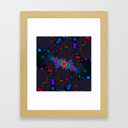 Jelly Bean Universe Framed Art Print