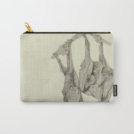 Three Flying Foxes Carry-All Pouch