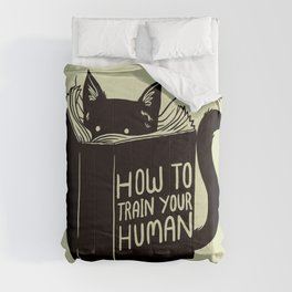 How To Train Your Human Comforters