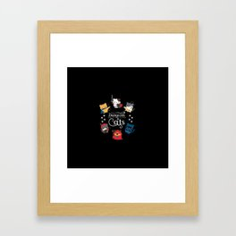 Dungeons And Cats Framed Art Print