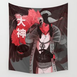BIG GOD Wall Tapestry