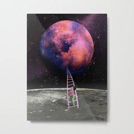 Pink Planet is my Favorite Metal Print