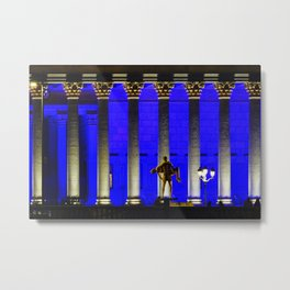 Courthouse in Lyon, Fine Art Travel Photography Metal Print