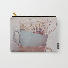 Vintage teacups Carry-All Pouch