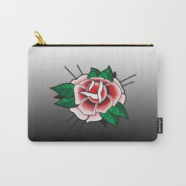Tattoo Rose Carry-All Pouch