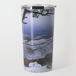 Snowy Grand Canyon Mesa Travel Mug