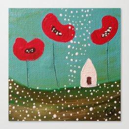 """Poppy Lane"" Canvas Print"