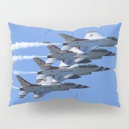 Thunderbirds Show Pass Pillow Sham