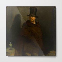 "Édouard Manet ""The Absinthe Drinker"" Metal Print"