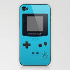 GAMEBOY Color - Light Blue Version iPhone & iPod Skin