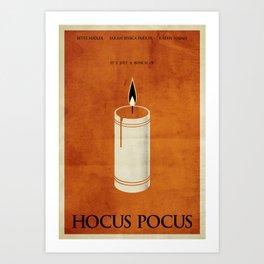 Hocus Pocus Minimalist Poster Art Print