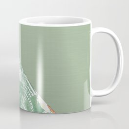 Combined pattern with pineapples. patchwork. Coffee Mug