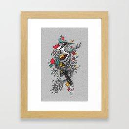 """THE WOODPECKER FOREST "" Framed Art Print"