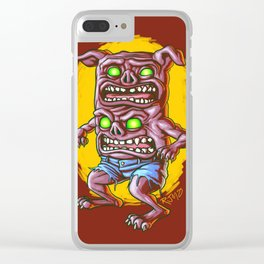 I Don't Care How Hungry You Are, I Gotta Piss! Clear iPhone Case