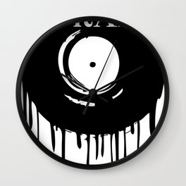Trap Dripping Record Wall Clock