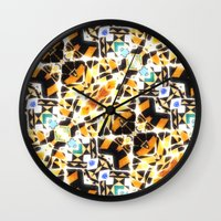 barcelona Wall Clocks featuring Barcelona by kociara