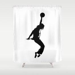 #TheJumpmanSeries, MJ Shower Curtain