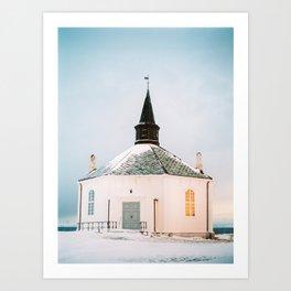 Andenes Sunset - Norway - Travel Photography Art Print