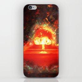 Famous humourous quotes series: Atomic mushroom explosion  iPhone Skin