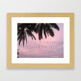 Today! Framed Art Print