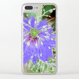 """Petals and Droplets (i)"" by ICA PAVON Clear iPhone Case"