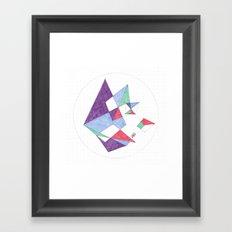 Kite-netic #1 Framed Art Print