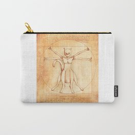 Vitruvian Mewtwo Carry-All Pouch