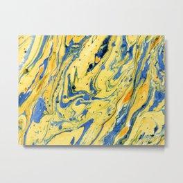 Colors on the Lake #abstract #society6 #decor Metal Print