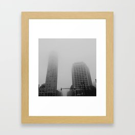 David. David. - Detroit, MI Framed Art Print