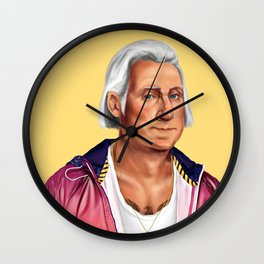 Hipstory -  George Washington Wall Clock