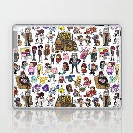 Cute Gravity Falls Doodle Laptop & iPad Skin