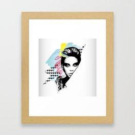 BEYON C E SASHA FIERCE Framed Art Print