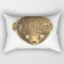 Puffer Fish Rectangular Pillow