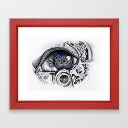 Mechanical Eye Framed Art Print