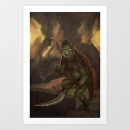 Goblyn Chief Art Print