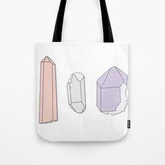 Crystals Trio Tote Bag