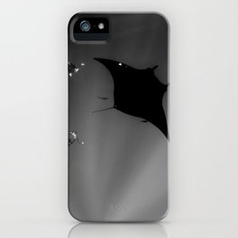 Manta and Divers iPhone Case