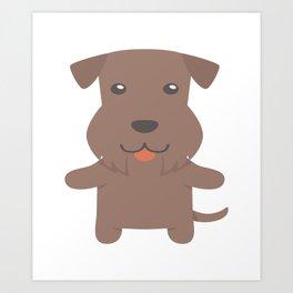 Cesky Terrier Gift Idea Art Print