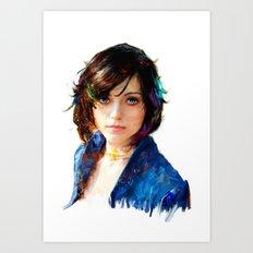 Elli Art Print