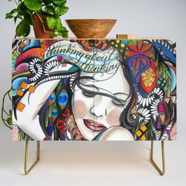 Thinking About Thinking Credenza