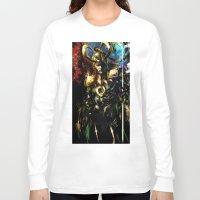 loki Long Sleeve T-shirts featuring Loki by Vincent Vernacatola