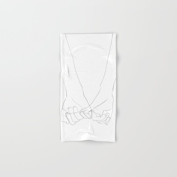 promesse Hand & Bath Towel