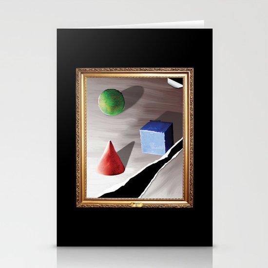 Broken By Design Stationery Cards