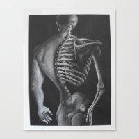skeletor Canvas Prints featuring Skeletor  by Robyn Ami Medlock