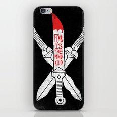 FEAR IS THE MIND KILLER - KINDJAL iPhone Skin