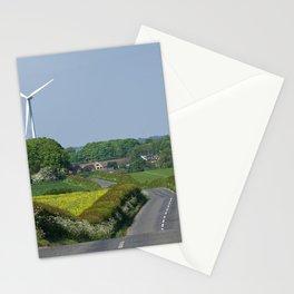 Green Landscape  Stationery Cards