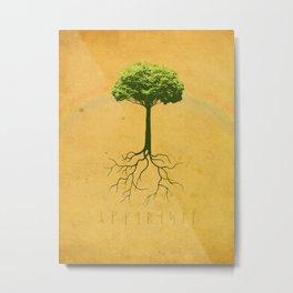 Yggdrasil - The Tree of Life Metal Print