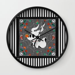 Nightmare Before Noel Wall Clock