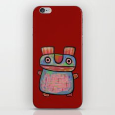 Rabbit work out iPhone & iPod Skin