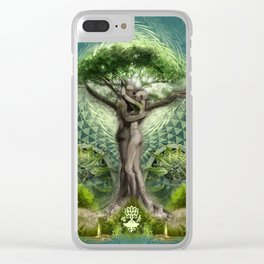 Tree Psyde 2019 - Blue Clear iPhone Case